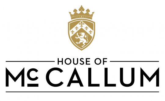 House of McCallum logo whisky ecossais