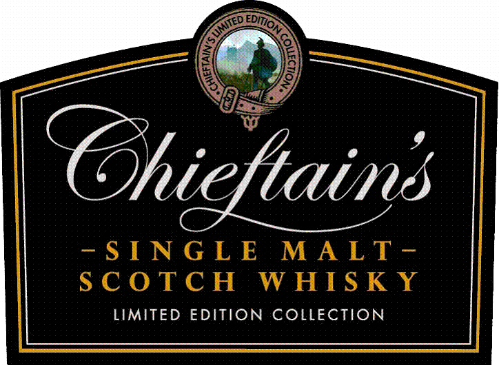 Chieftains logo single malt whisky ecossais