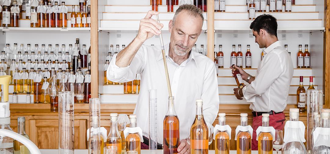 Eric Forgeot Maison Hine Cognac fabrication
