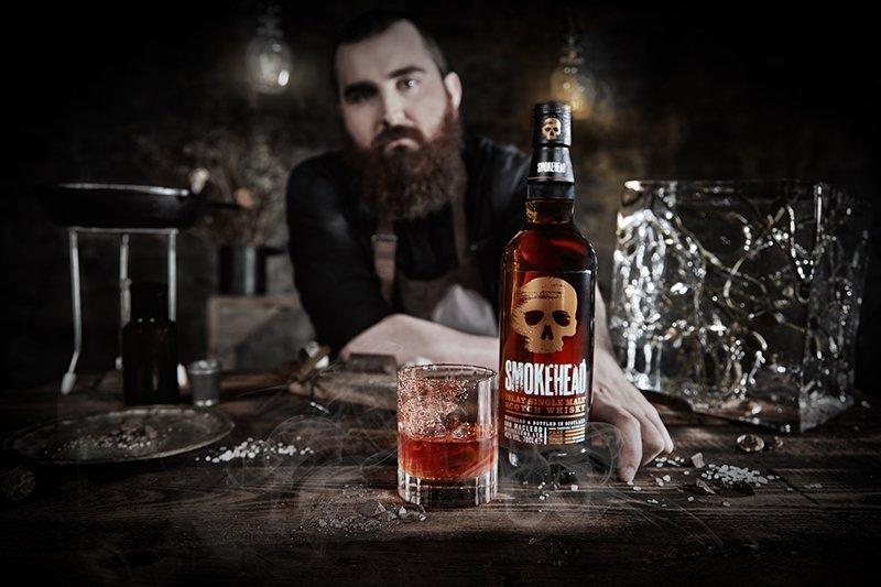 cocktail Smokehead Fashioned