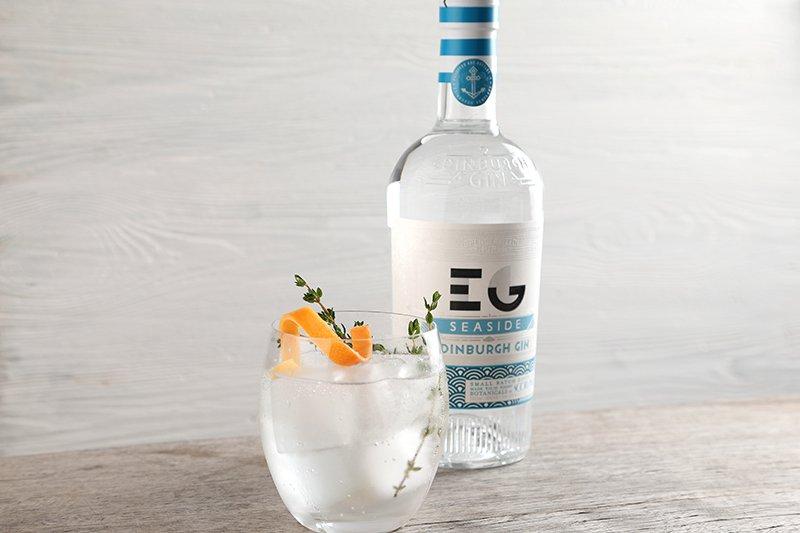 cocktail Edinburgh Gin Seaside & Tonic