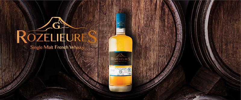 Whisky francais Rozelieures Finition HSE rhum
