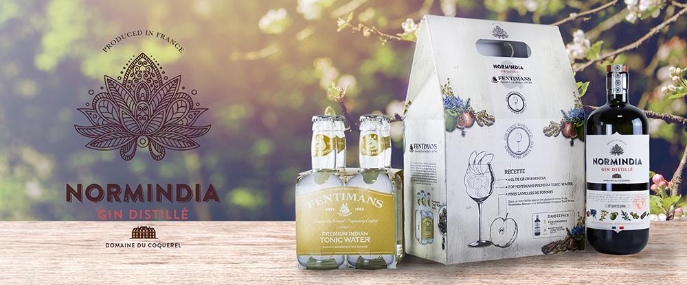 Gin Normindia fentimans Premium Tonic Water