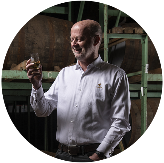 Expert Graham Eunson Tomatin whisky ecossais