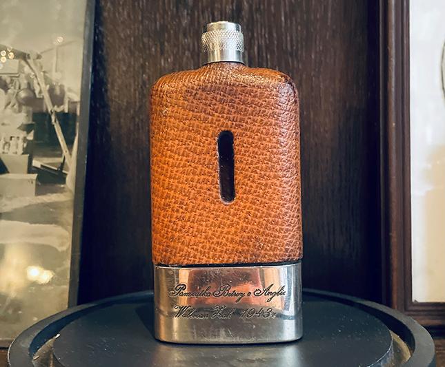 Vodka Squadron 303 - Flasque Originale du pilote Walerian Zak