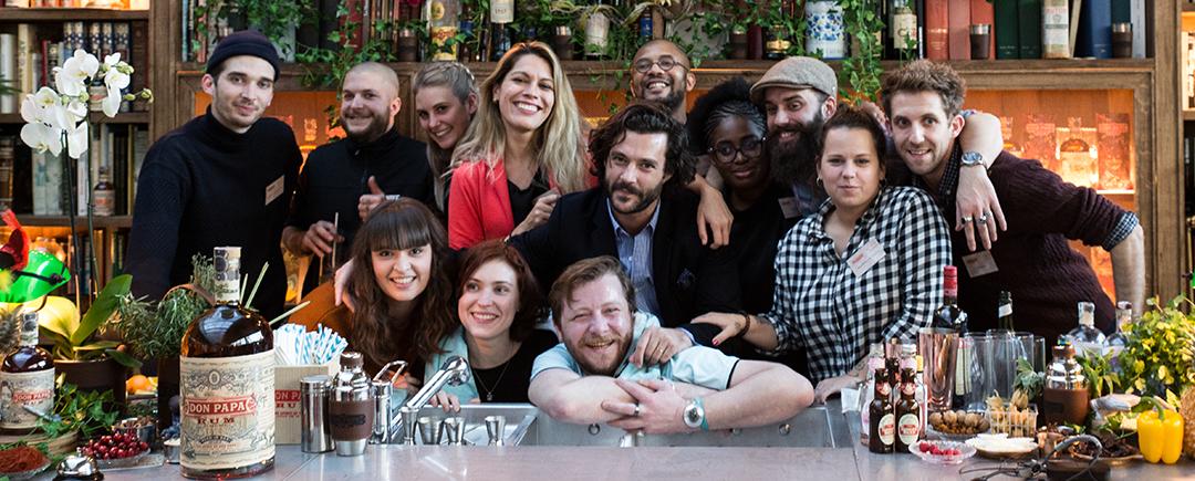 Jury candidats et barmen DON PAPA rhum - Credit Emilie Franzo