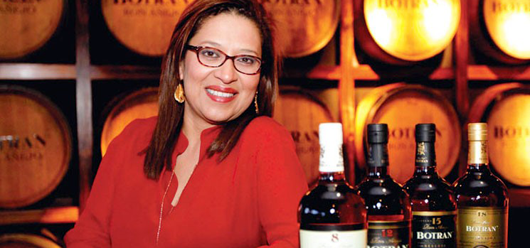 Botran  Isabel Medina Brand Ambassador Dugas Club Expert spiritueux