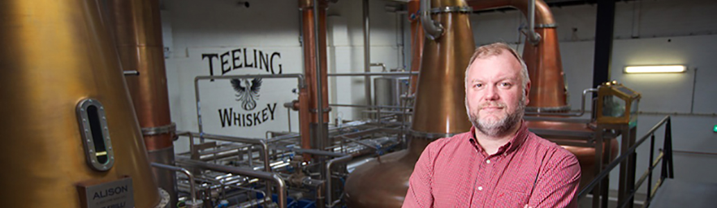 Alex Chasko distillerie Teeling alambic