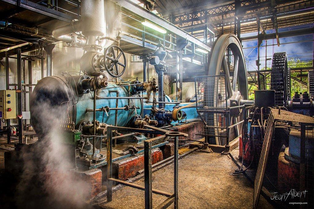 Distillerie La Favorite machine à vapeur