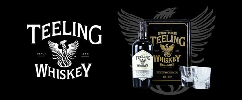 TEELING SMALL BATCH BLENDED WHISKEY irlandais COFFRET